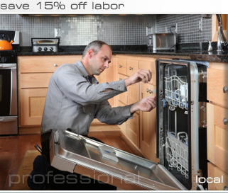 dishwasher repairman
